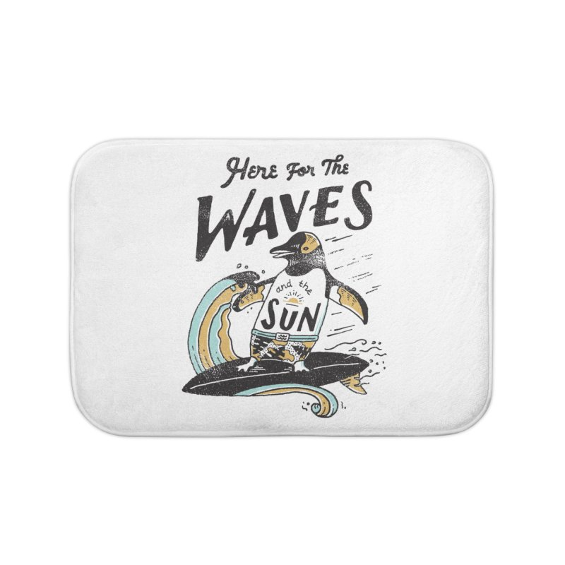 Here For Home Bath Mat by skitchism's Artist Shop