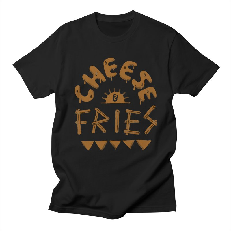 Cheese and Fries Men's Regular T-Shirt by skitchism's Artist Shop