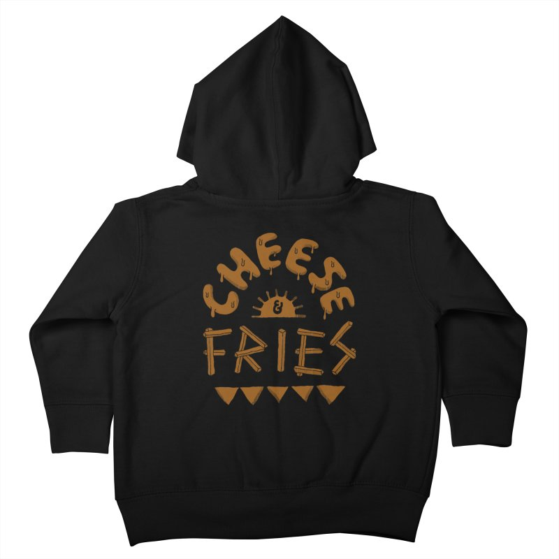Cheese and Fries Kids Toddler Zip-Up Hoody by skitchism's Artist Shop