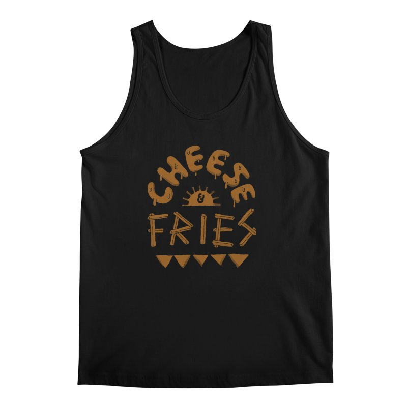 Cheese and Fries Men's Regular Tank by skitchism's Artist Shop