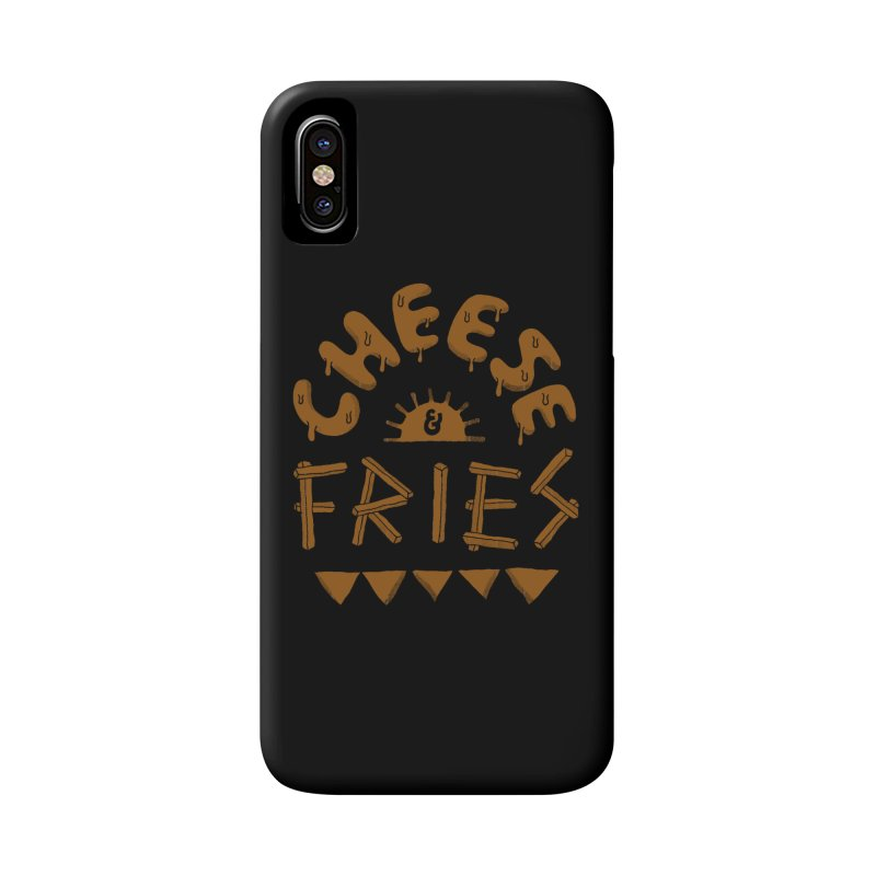 Cheese and Fries Accessories Phone Case by skitchism's Artist Shop