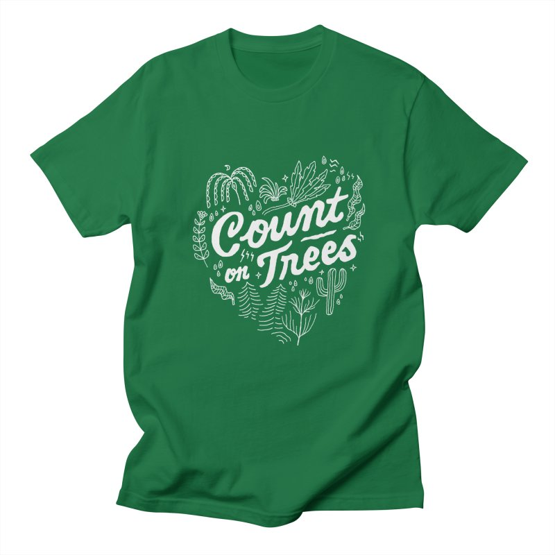 Count on Trees Men's T-Shirt by Tatak Waskitho