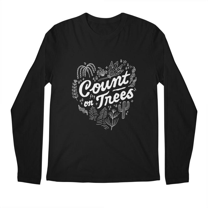Count on Trees Men's Regular Longsleeve T-Shirt by Tatak Waskitho