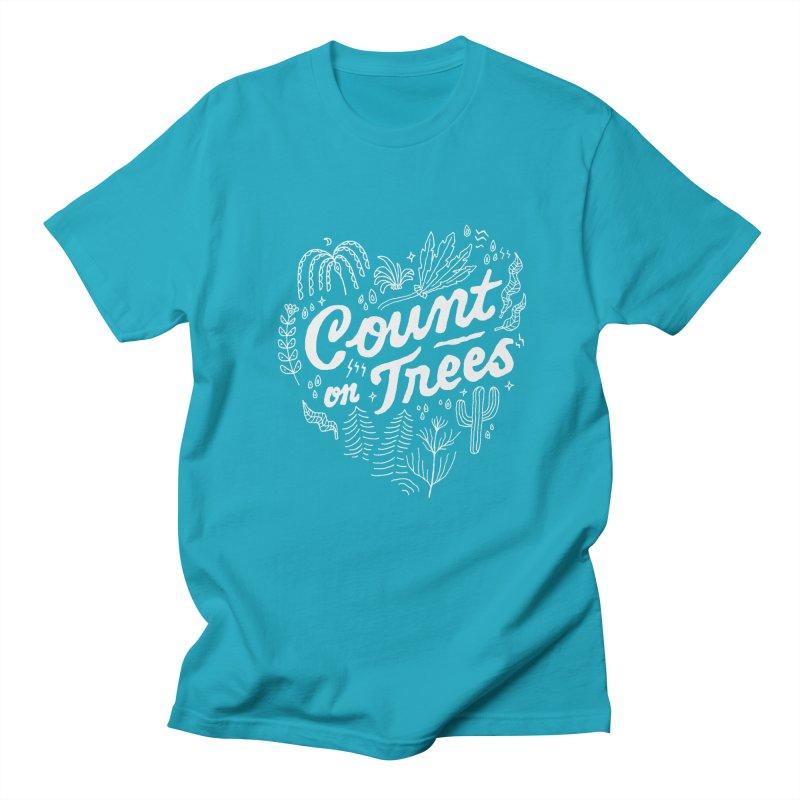 Count on Trees Women's Regular Unisex T-Shirt by Tatak Waskitho