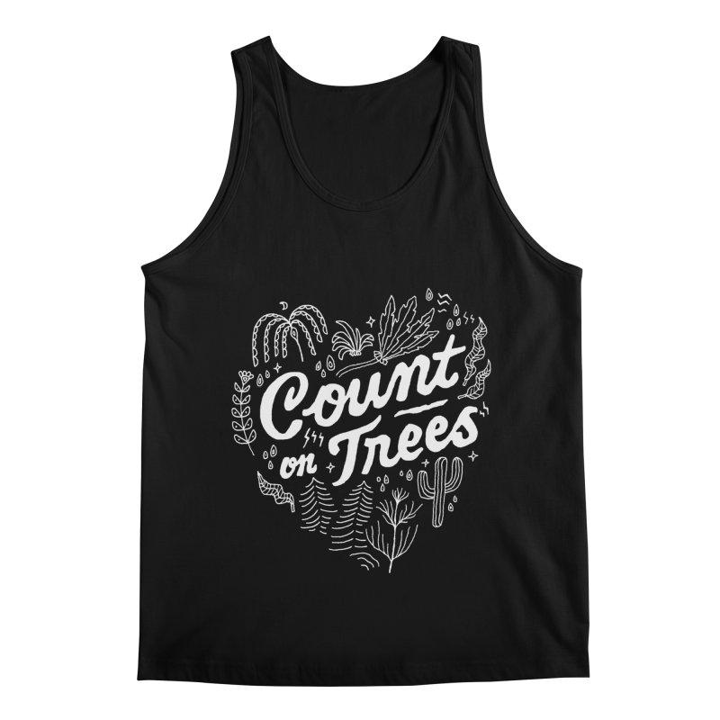Count on Trees Men's Regular Tank by Tatak Waskitho