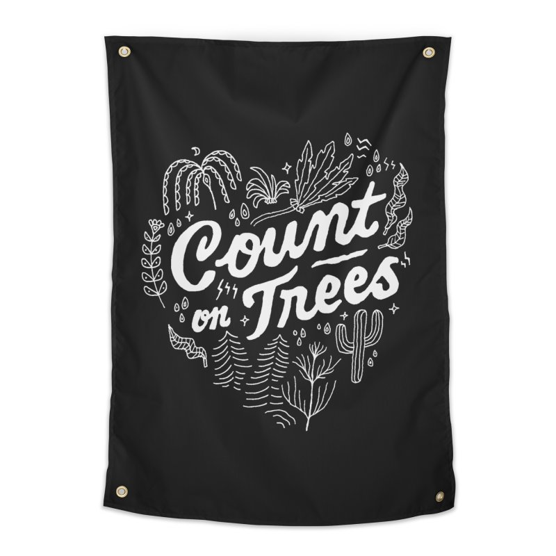 Count on Trees Home Tapestry by Tatak Waskitho