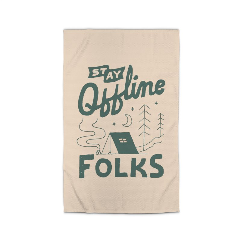 Stay Offline Home Rug by Tatak Waskitho