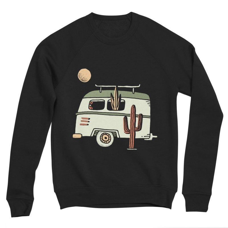 Van Life Men's Sponge Fleece Sweatshirt by Tatak Waskitho