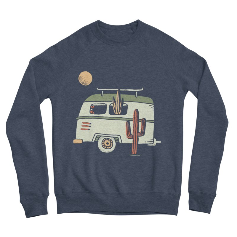 Van Life Women's Sponge Fleece Sweatshirt by skitchism's Artist Shop