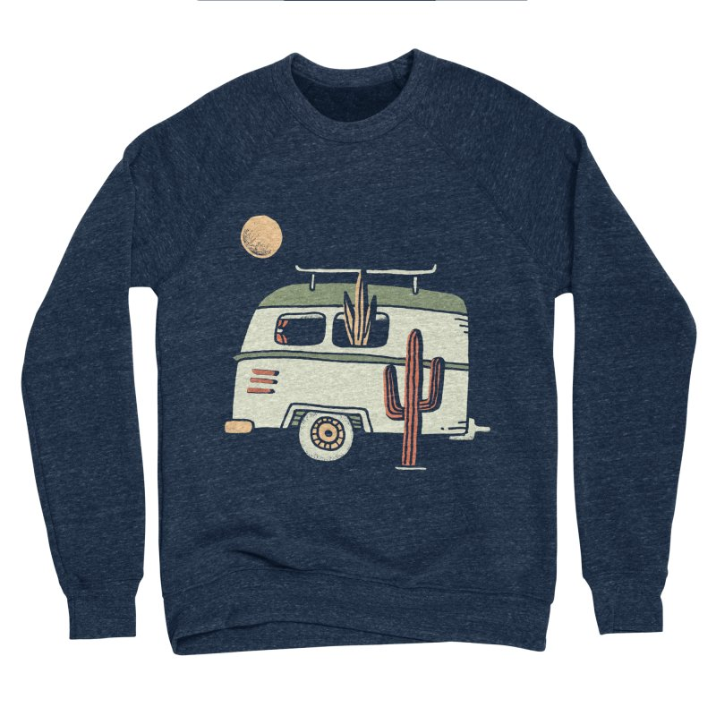 Van Life Men's Sponge Fleece Sweatshirt by Tatak Waskitho