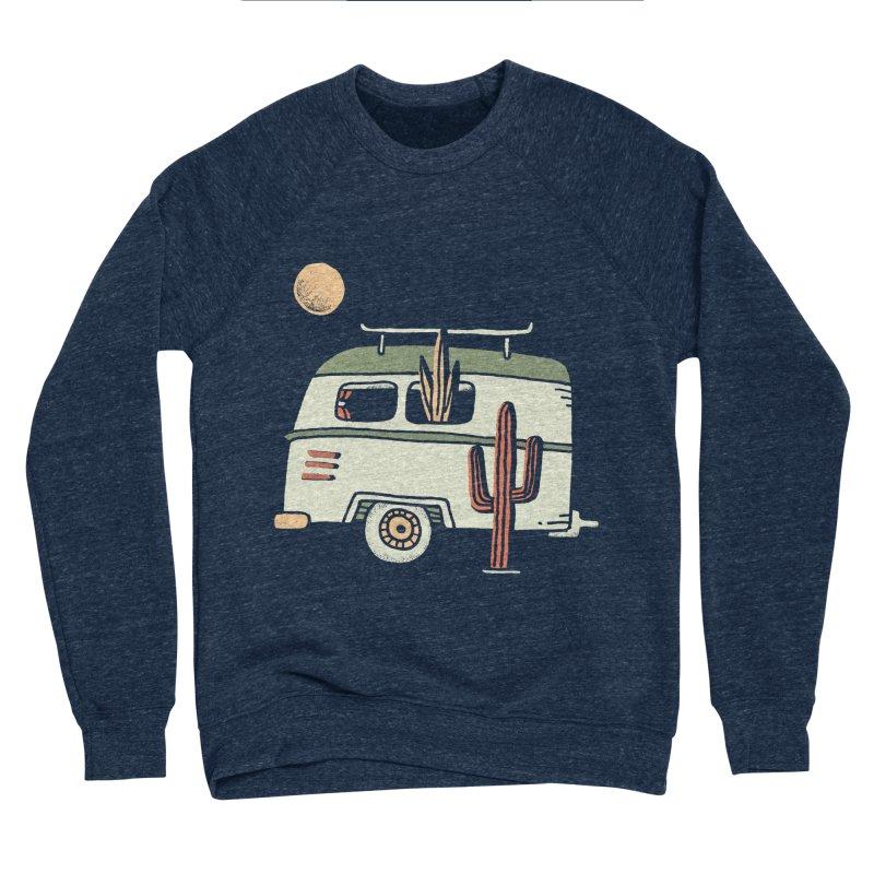 Van Life Women's Sponge Fleece Sweatshirt by Tatak Waskitho