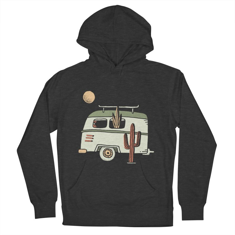 Van Life Women's French Terry Pullover Hoody by Tatak Waskitho