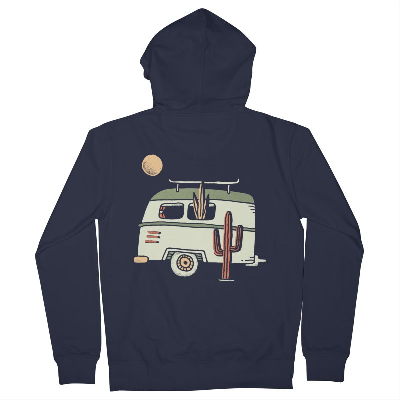 Van Life Women's French Terry Zip-Up Hoody by Tatak Waskitho