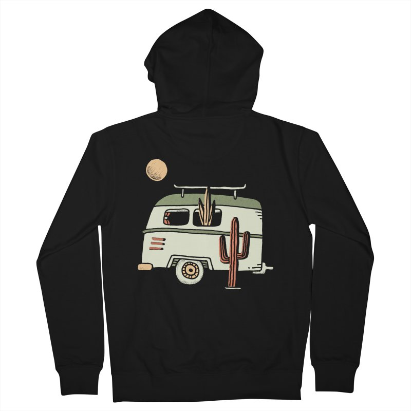 Van Life Men's French Terry Zip-Up Hoody by Tatak Waskitho