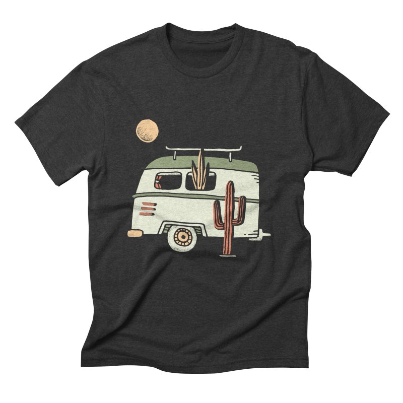 Van Life Men's Triblend T-Shirt by Tatak Waskitho