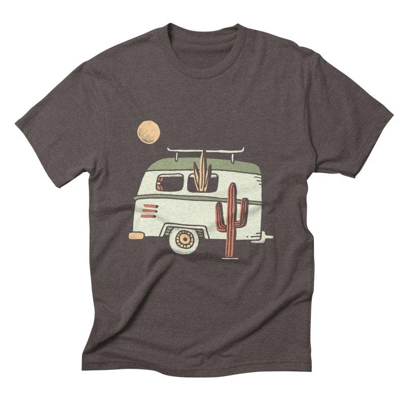 Van Life Men's Triblend T-Shirt by skitchism's Artist Shop