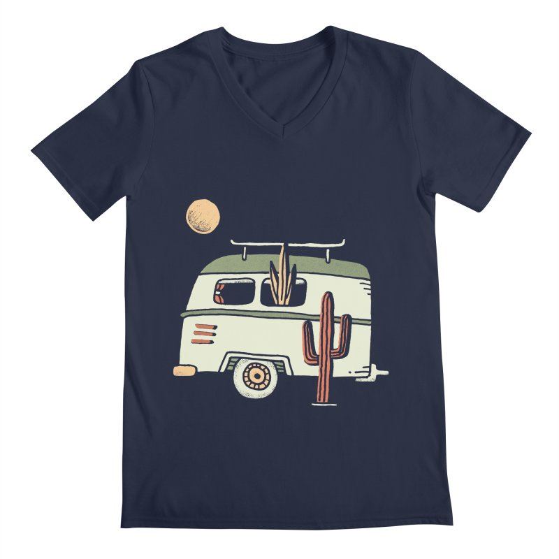 Van Life Men's Regular V-Neck by Tatak Waskitho