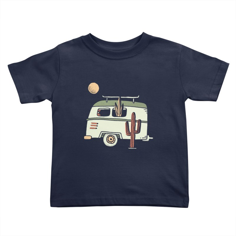 Van Life Kids Toddler T-Shirt by Tatak Waskitho