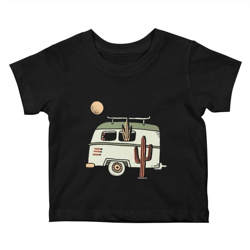 Van Life Kids Baby T-Shirt by Tatak Waskitho