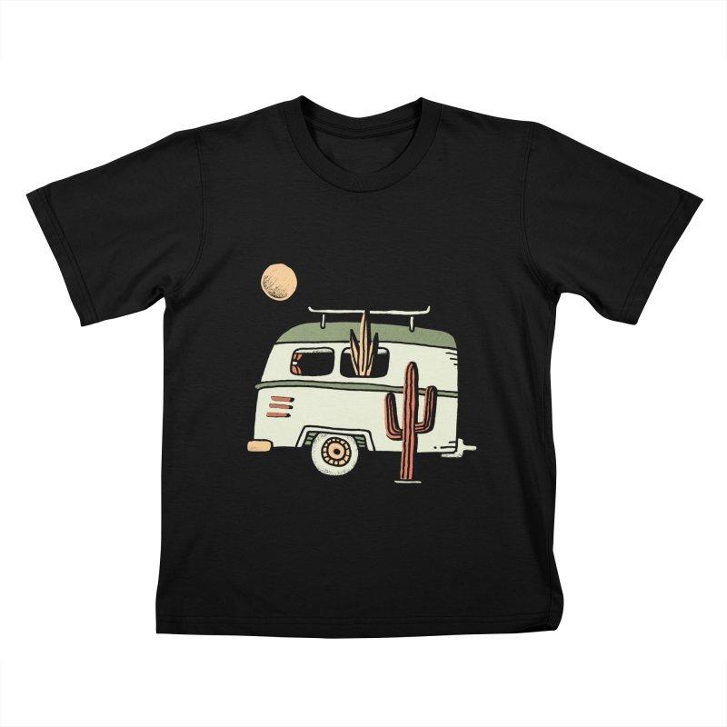 Van Life Kids T-Shirt by Tatak Waskitho