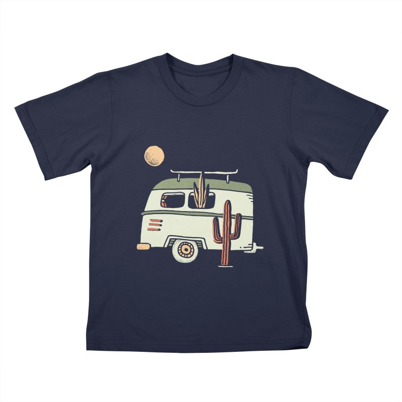 Van Life Kids T-Shirt by skitchism's Artist Shop