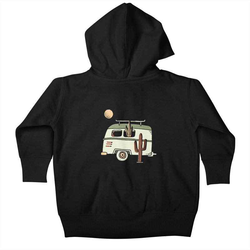 Van Life Kids Baby Zip-Up Hoody by skitchism's Artist Shop
