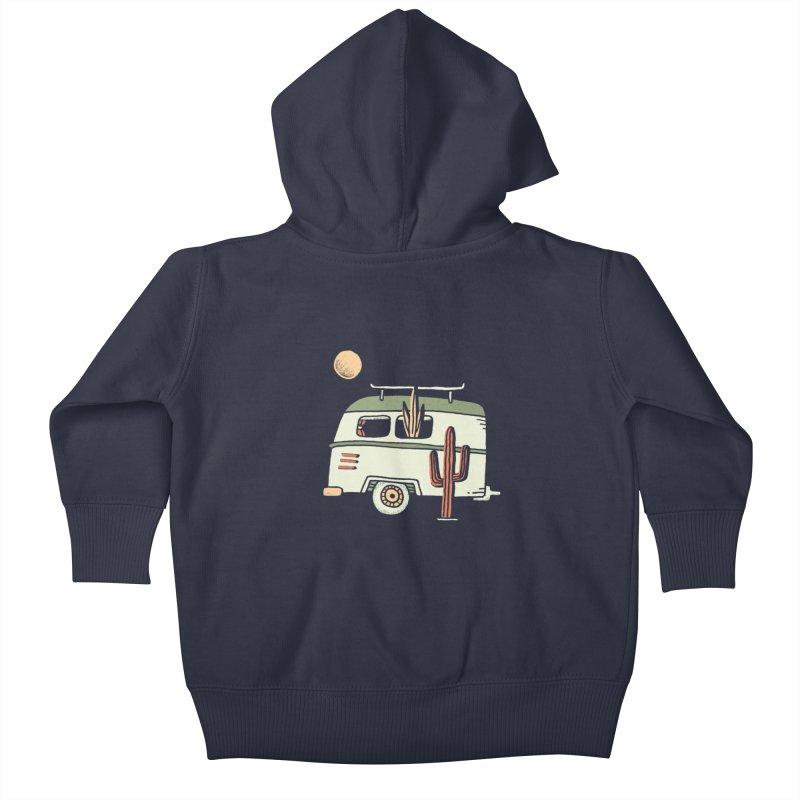 Van Life Kids Baby Zip-Up Hoody by skitchism's Artist Shop