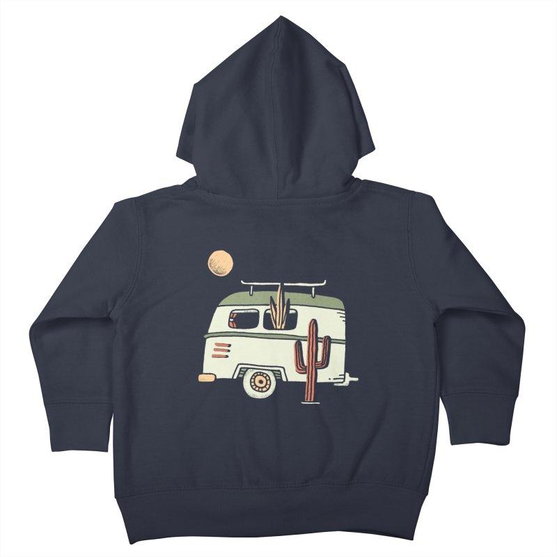 Van Life Kids Toddler Zip-Up Hoody by skitchism's Artist Shop