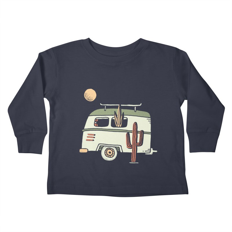 Van Life Kids Toddler Longsleeve T-Shirt by Tatak Waskitho