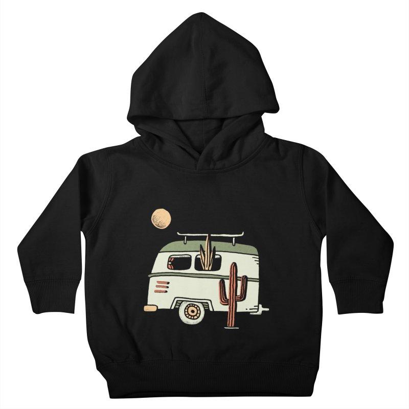 Van Life Kids Toddler Pullover Hoody by skitchism's Artist Shop