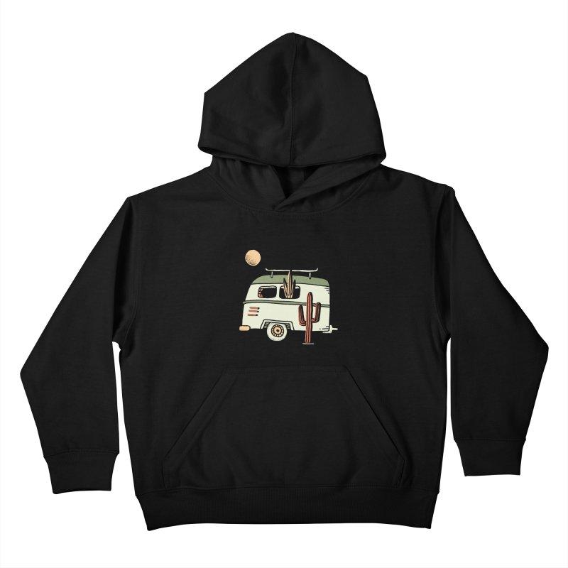 Van Life Kids Pullover Hoody by Tatak Waskitho
