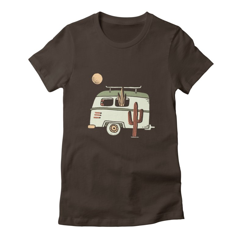 Van Life Women's French Terry Zip-Up Hoody by skitchism's Artist Shop
