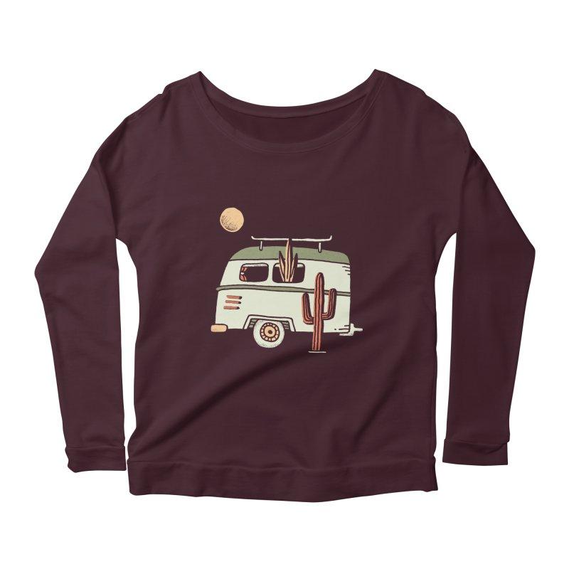 Van Life Women's Scoop Neck Longsleeve T-Shirt by skitchism's Artist Shop