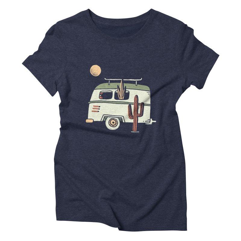 Van Life Women's Triblend T-Shirt by Tatak Waskitho