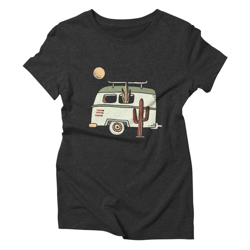 Van Life Women's Triblend T-Shirt by skitchism's Artist Shop