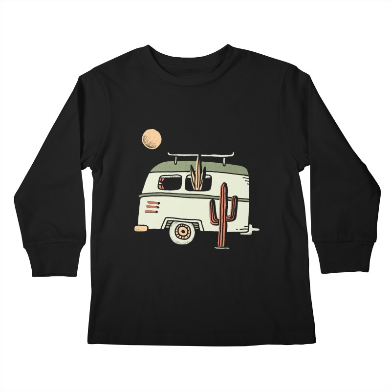 Van Life Kids Longsleeve T-Shirt by Tatak Waskitho