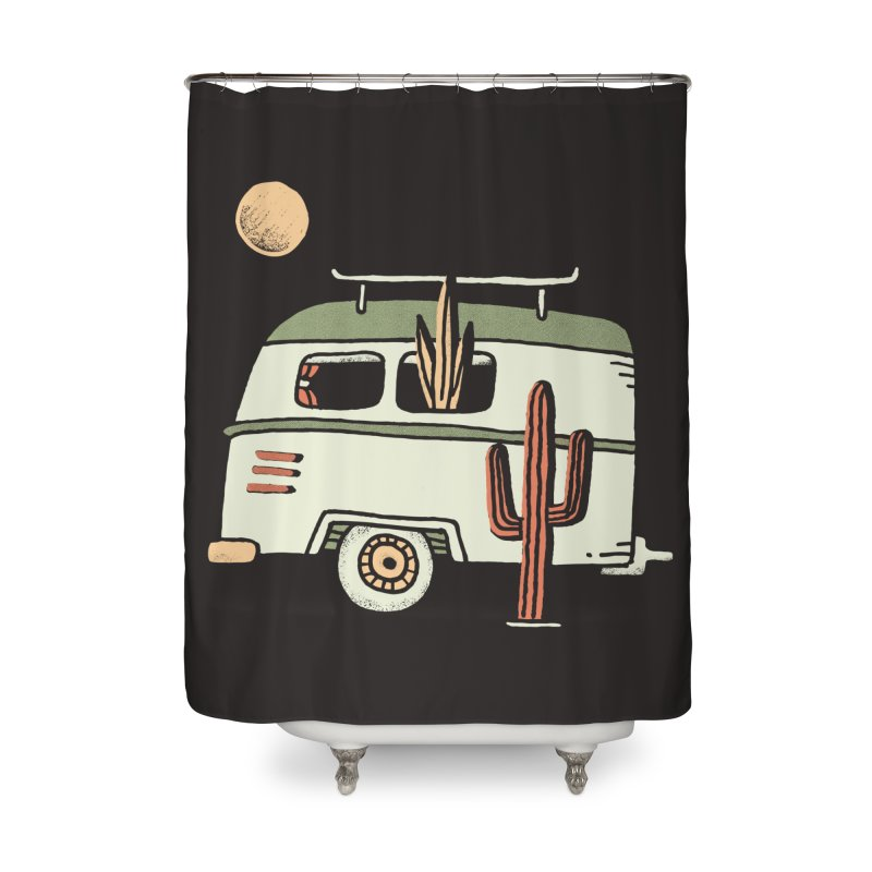 Van Life Home Shower Curtain by skitchism's Artist Shop