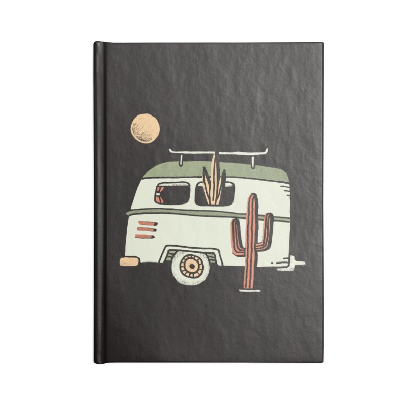 Van Life Accessories Lined Journal Notebook by Tatak Waskitho