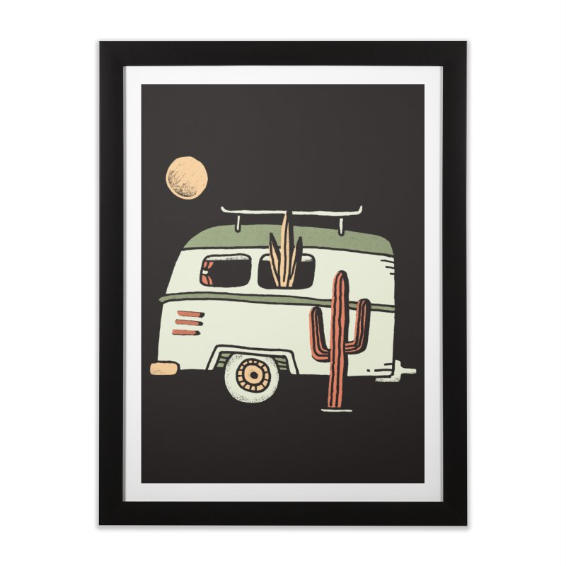 Van Life Home Framed Fine Art Print by Tatak Waskitho