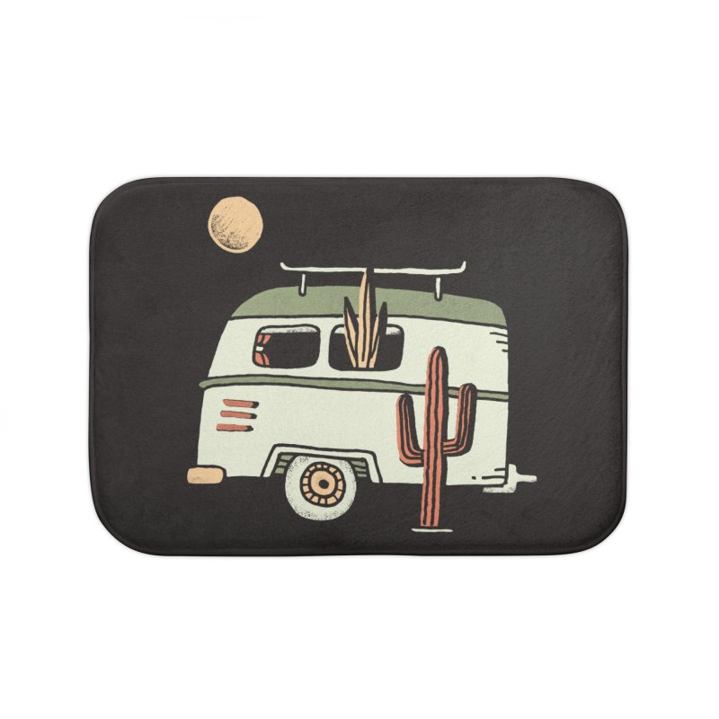 Van Life Home Bath Mat by skitchism's Artist Shop