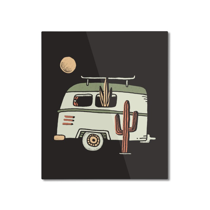 Van Life Home Mounted Aluminum Print by skitchism's Artist Shop