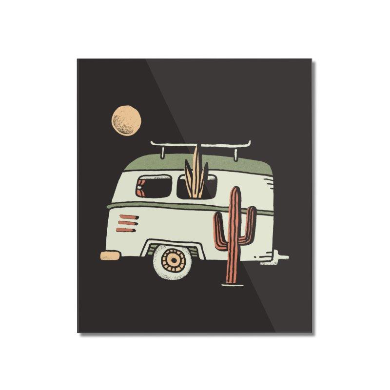 Van Life Home Mounted Acrylic Print by Tatak Waskitho