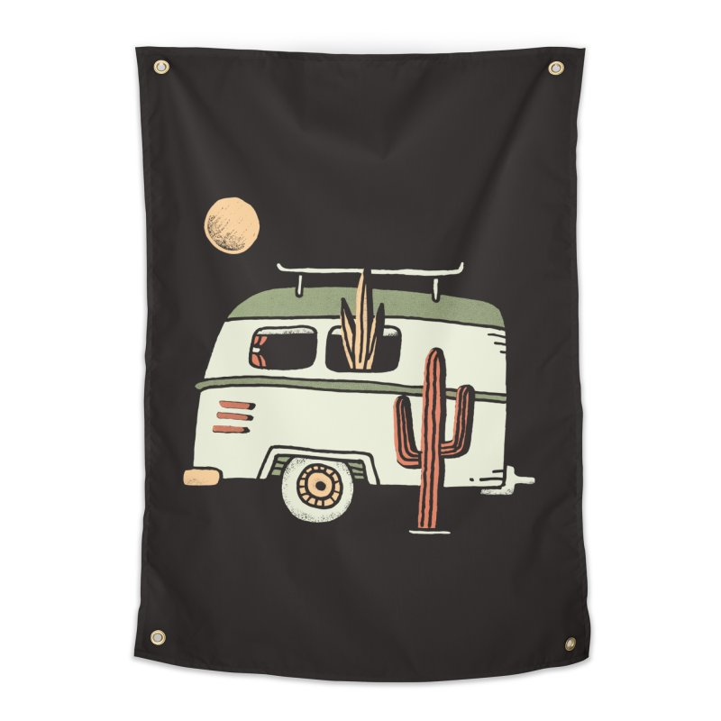 Van Life Home Tapestry by Tatak Waskitho