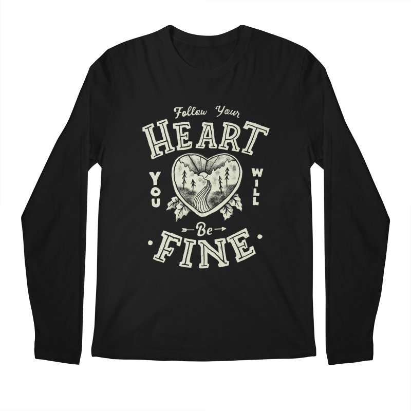 You'll be Fine Men's Regular Longsleeve T-Shirt by Tatak Waskitho
