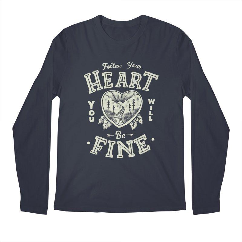 You'll be Fine Men's Regular Longsleeve T-Shirt by Tatak Waskitho
