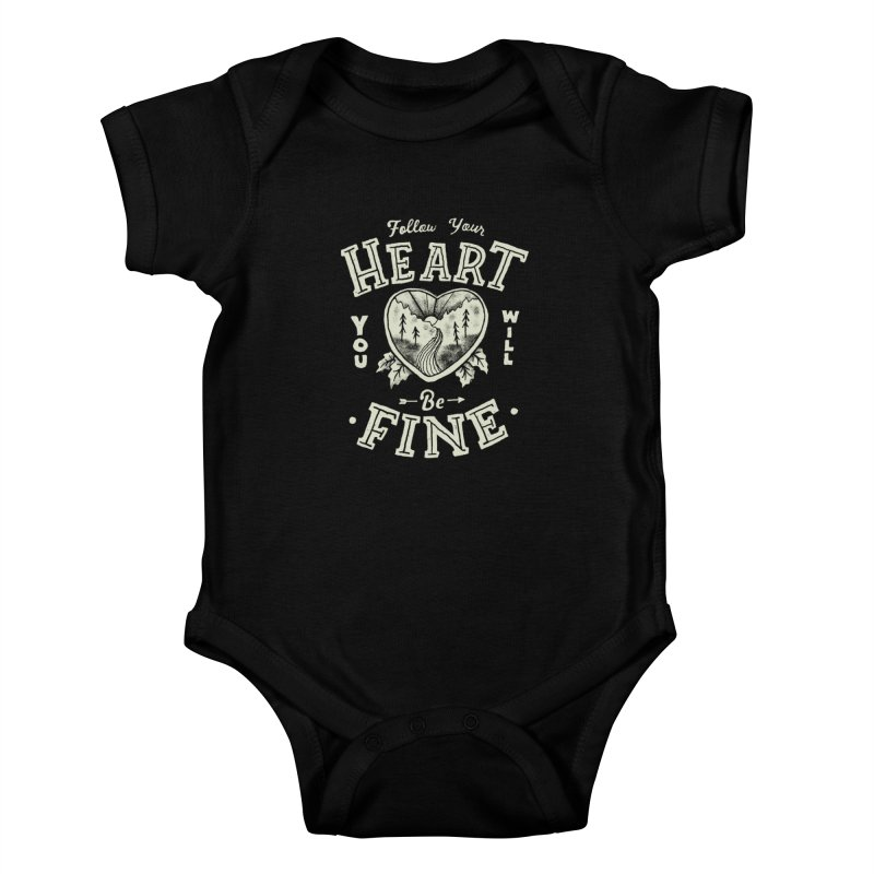 You'll be Fine Kids Baby Bodysuit by Tatak Waskitho