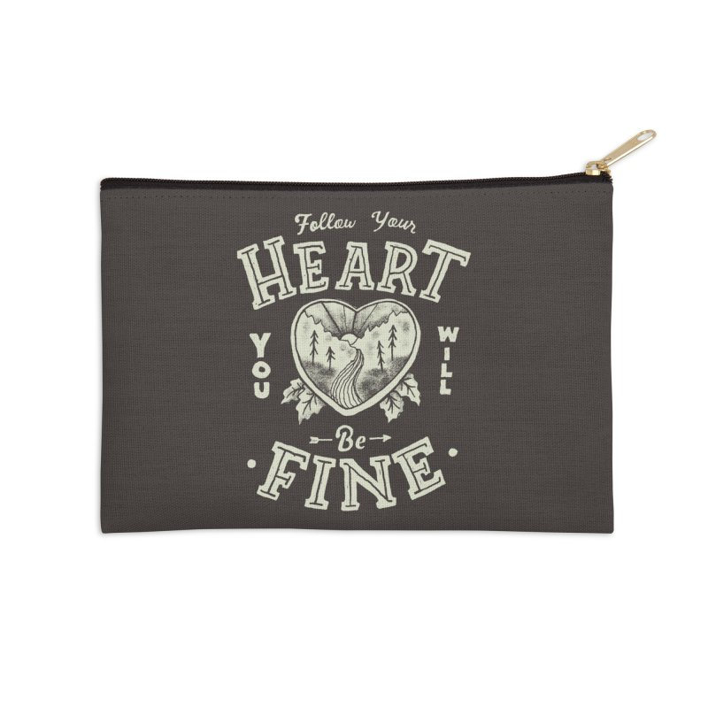 You'll be Fine Accessories Zip Pouch by Tatak Waskitho