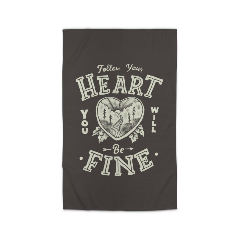 You'll be Fine Home Rug by Tatak Waskitho