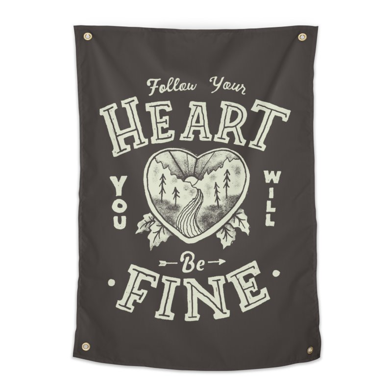 You'll be Fine Home Tapestry by skitchism's Artist Shop