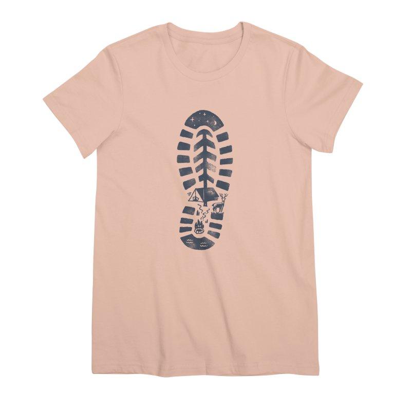 Wild Step Women's Premium T-Shirt by Tatak Waskitho